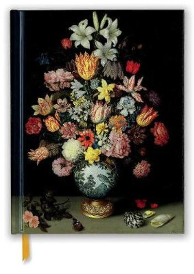 National Gallery: Bosschaert: A Still Life of Flowers (Blank Sketch Book) - Flame Tree Studio