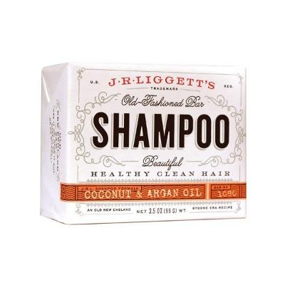 Coconut & Argan Oil Shampoo Bar - J.R. Liggett's