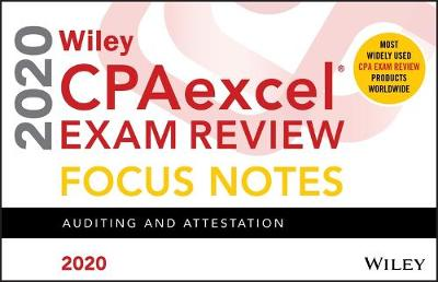 Wiley CPAexcel Exam Review 2020 Focus Notes - Wiley