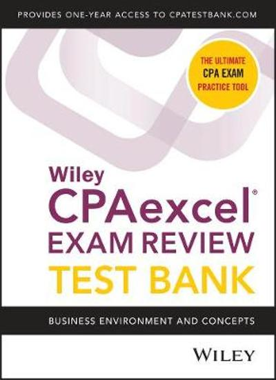 Wiley CPAexcel Exam Review 2020 Test Bank - Wiley