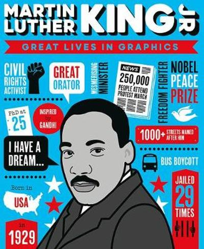 Great Lives in Graphics: Martin Luther King - Books Button