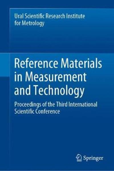 Reference Materials in Measurement and Technology - Sergei V. Medvedevskikh