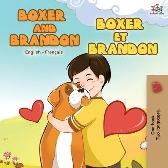 Boxer and Brandon Boxer et Brandon - Kidkiddos Books Inna Nusinsky