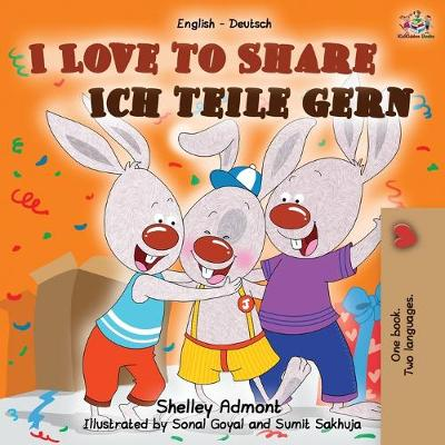 I Love to Share Ich teile gern - Shelley Admont