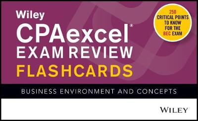 Wiley CPAexcel Exam Review 2020 Flashcards - Wiley