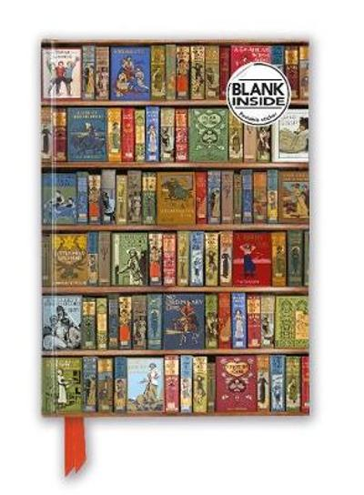 Bodleian Libraries: High Jinks Bookshelves (Foiled Blank Journal) - Flame Tree Studio