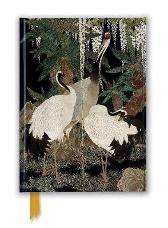 Ashmolean: Cranes, Cycads and Wisteria by Nishimura So-zaemon XII (Foiled Journal) - Flame Tree Studio