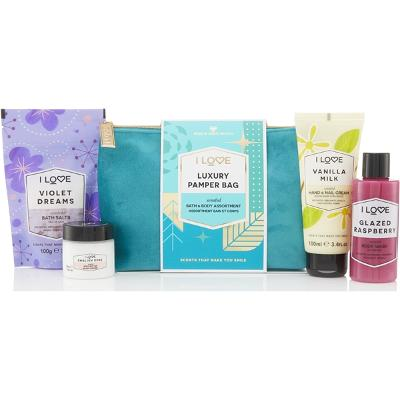 Luxury Pamper Bag - I Love...