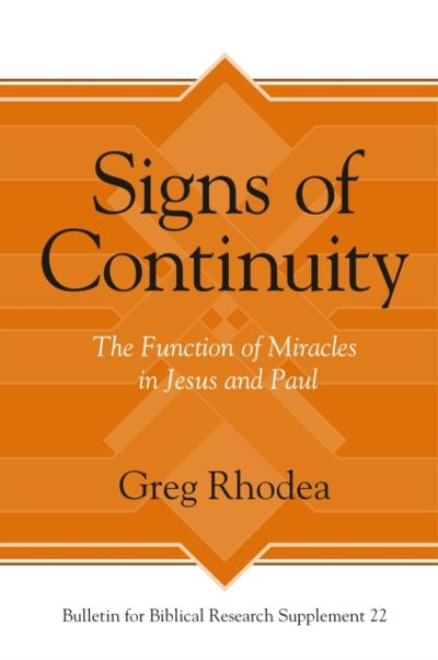 Signs of Continuity - Greg Rhodea