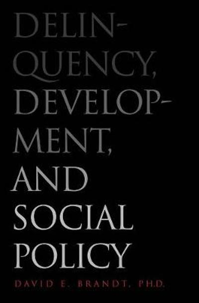 Delinquency, Development, and Social Policy - David Brandt