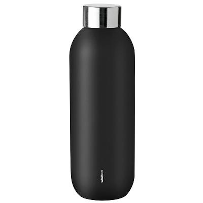 Keep Cool termoflaske 0,6 l sort - Stelton