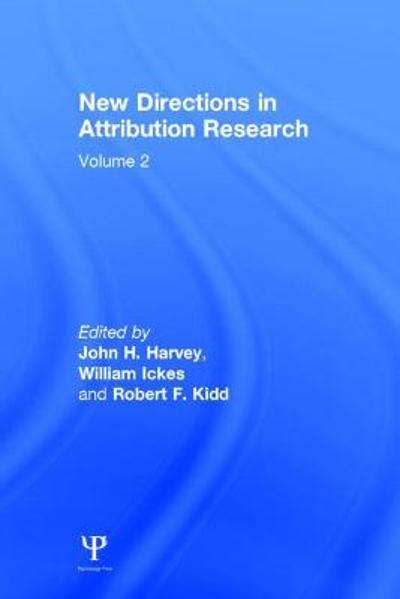 New Directions in Attribution Research - J.H. Harvey