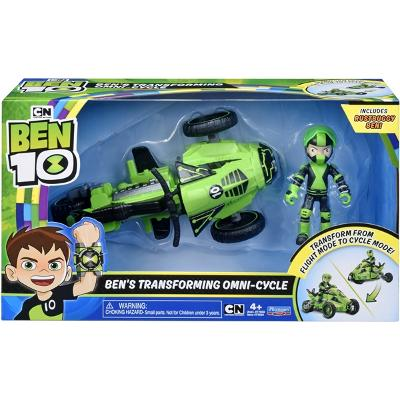 Ben 10 Rustbuggy Ben Transforming Omni-Cycle - Ben 10