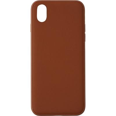 Design Letters MyCover iPhone X/XS Cognac - Design Letters