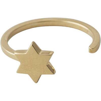 Design Letters Star Ring Gold - Design Letters