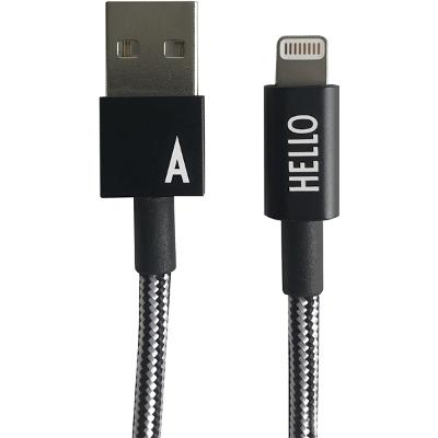 Lightning Cable 1 Meter A-Z - Design Letters