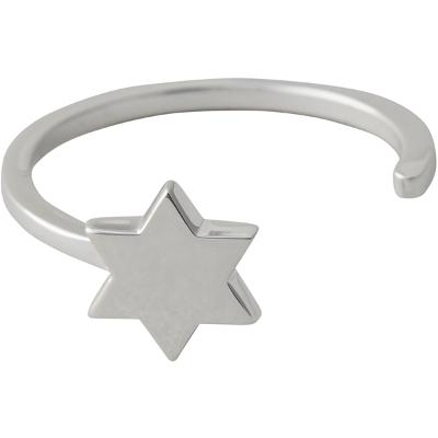 Design Letters Star Ring Silver - Design Letters