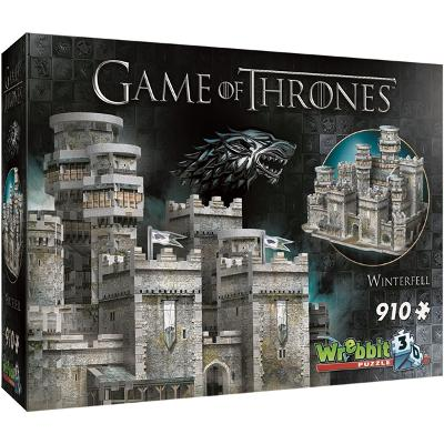 Wrebbit 3D Puslespill Game of Thrones Winterfell - Wrebbit