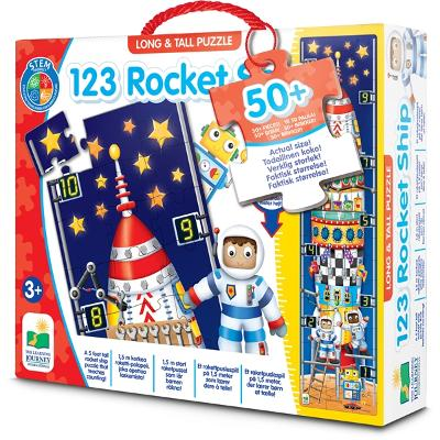 Long & Tall Puzzles 123 Rocket Ship - The Learning Journey International