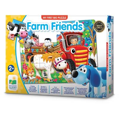 My First Big Floor Puzzle Farm Friends - The Learning Journey International