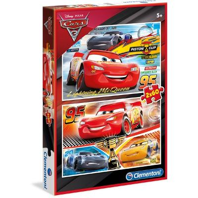 Puslespill 2 x 60 Special Collection Cars 3 - Clementoni