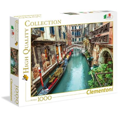 Puslespill 1000 Deler Venice Canal - Clementoni