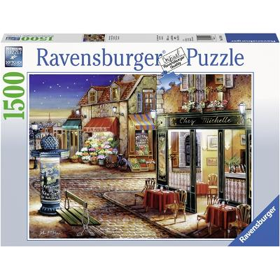 Puslespill 1500 Deler Paris's Secret Corner - Ravensburger