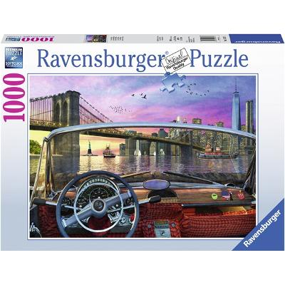 Puslespill 1000 Deler Brooklyn Bridge - Ravensburger
