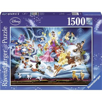 Puslespill 1500 Deler Disney's Magical Storybook - Ravensburger