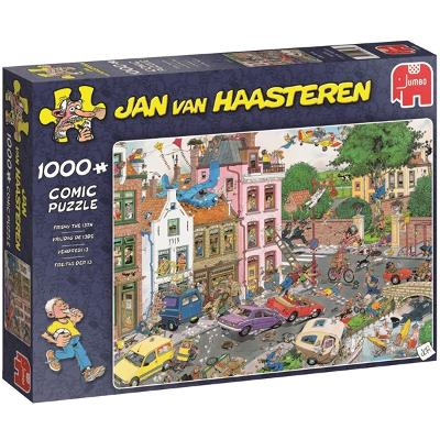 Puslespill 1000 deler -  Friday The 13th - Jan Van Haasteren