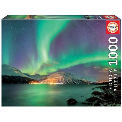 Puslespill 1000 Deler Northern Lights - Educa