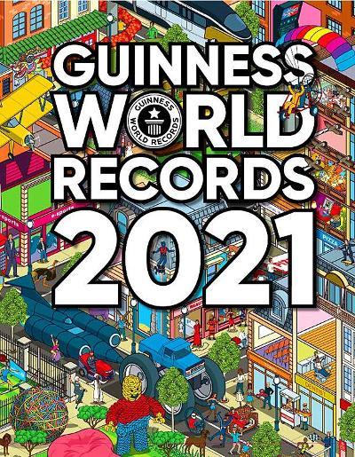 Guinness world records 2021 - Craig Glenday