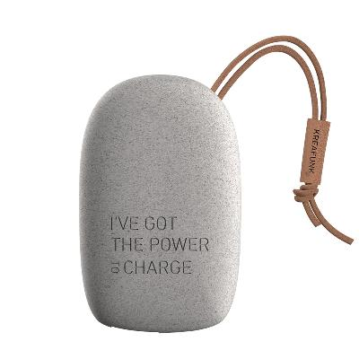 Power bank toCHARGE Wheat fibre - Kreafunk