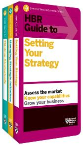 HBR Guides to Building Your Strategic Skills Collection (3 Books) - Harvard Business Review Harvard Business Review
