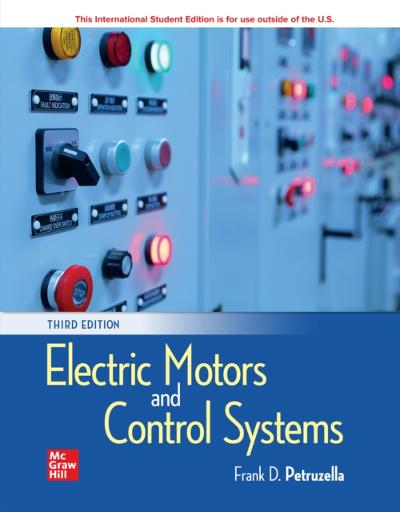 eBook Online Access for Electric Motors and Control Systems - Frank Petruzella