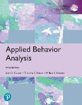 Applied Behavior Analysis, Global Edition - John O. Cooper