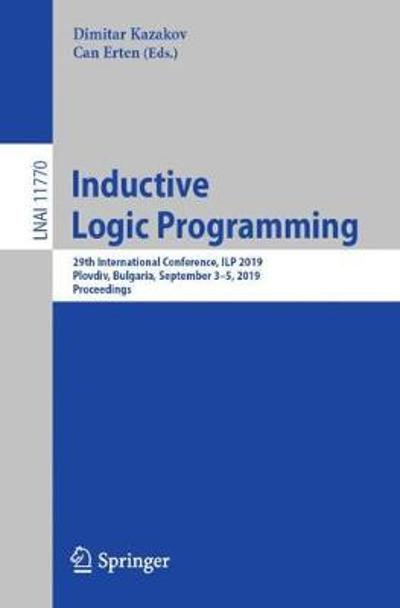 Inductive Logic Programming - Dimitar Kazakov