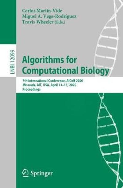 Algorithms for Computational Biology - Carlos Martin-Vide