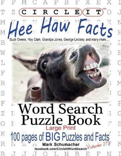 Circle It, Hee Haw Facts, Word Search, Puzzle Book - Lowry Global Media LLC