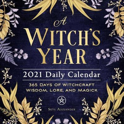 A Witch's Year 2021 Daily Calendar - Skye Alexander