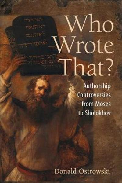 Who Wrote That? - Donald Ostrowski