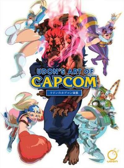 UDON's Art of Capcom 1 - Hardcover Edition - UDON