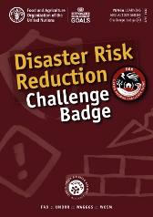 Disaster risk reduction challenge badge - Food and Agriculture Organization