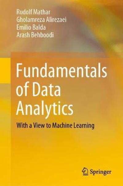 Fundamentals of Data Analytics - Rudolf Mathar