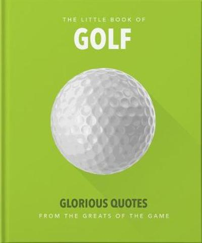 The Little Book of Golf - Orange Hippo!
