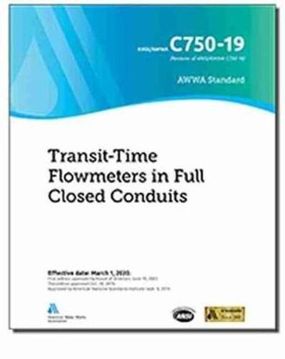 C750-19 Transit-Time Flowmeters in Full Closed Conduits - American Water Works Association