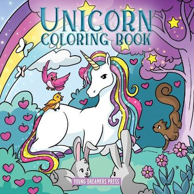 Unicorn Coloring Book - Young Dreamers Press