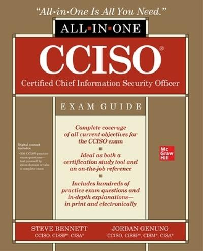 CCISO Certified Chief Information Security Officer All-in-One Exam Guide - Steven Bennett