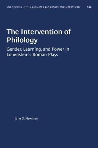 The Intervention of Philology - Jane O. Newman