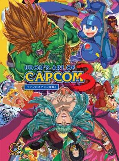 UDON's Art of Capcom 3 - Hardcover Edition - UDON